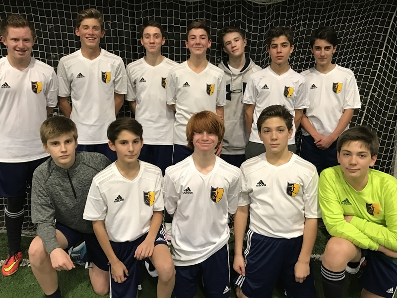 Congratulations to the U15 Knight Team on winning the top division in the First indoor Force League. They are now playing in a more competitive league and won their 1st game this weekend 10-2. So far this season they have an overall record of 14-2-1. Well done boys. Keep up the great work.