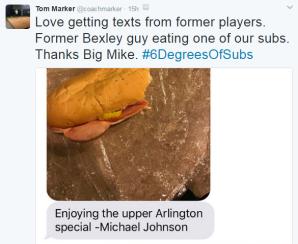 Coach Marker tweet