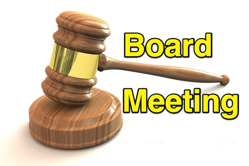 Board meeting 7a2c2