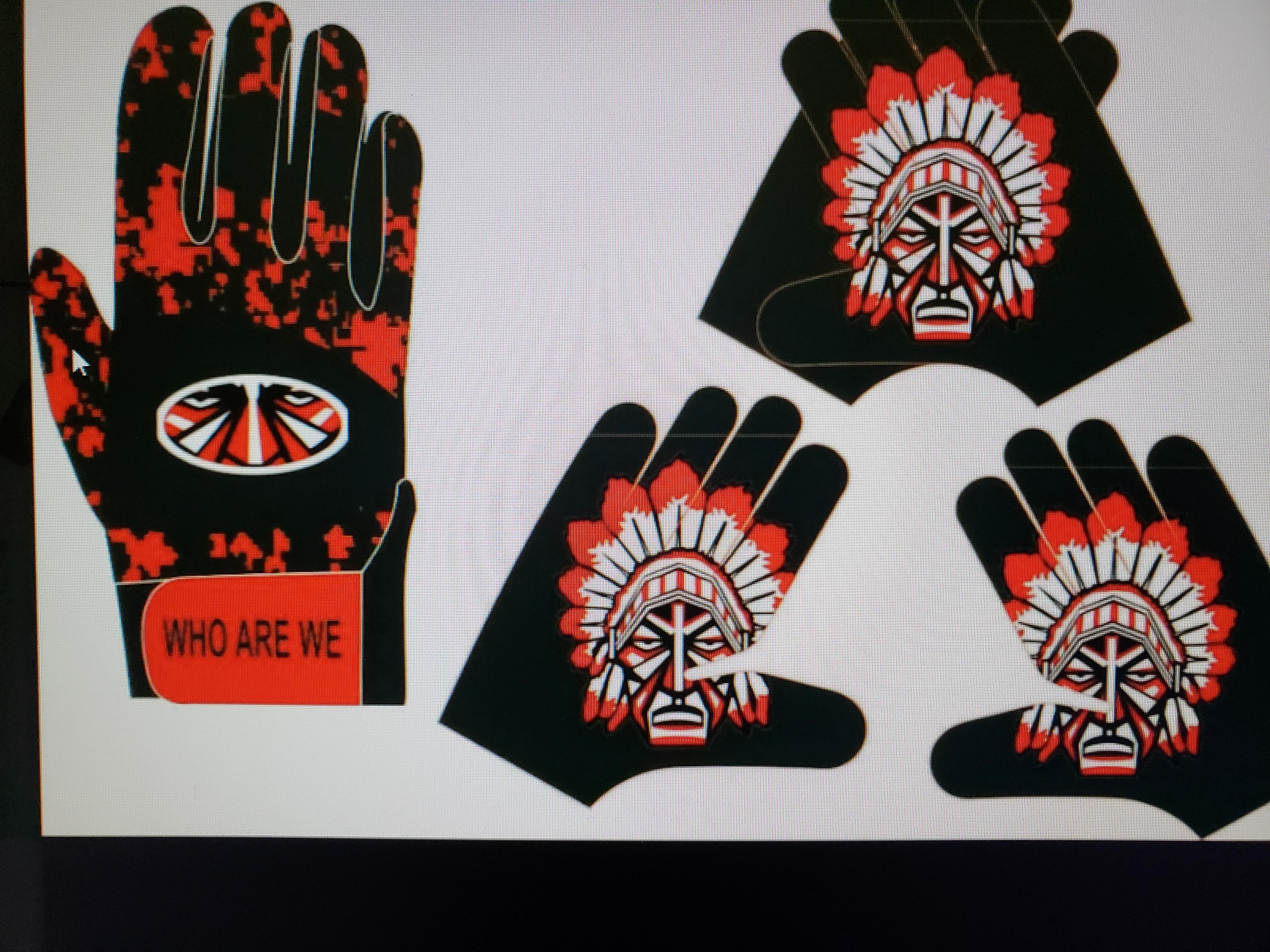 Warrior gloves fce03