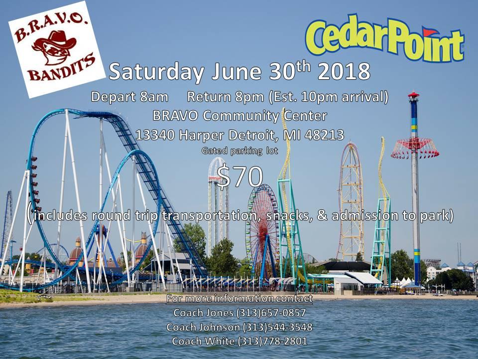 Cedar point saturday june 30th 2018 54634